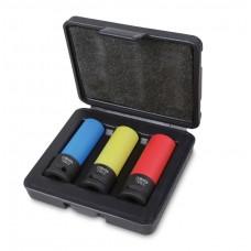 "Комплект ударни вложки Beta 720LC/C3, шестостен, 1/2"" Цветно"