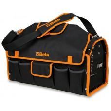 Чанта текстилна Beta C10 за инструменти с външни джобове (5 бр) и празна тава, вградена в дъното