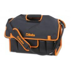 Чанта текстилна Beta C10S, за инструменти с външни джобове (5 бр) и празна тава, вградена в дъното