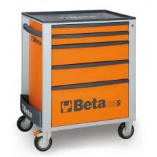 Количка за инструменти Beta C24S, 5 чекмеджета, ABS капак