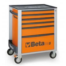 Количка за инструменти Beta C24S, 6 чекмеджета, ABS капак