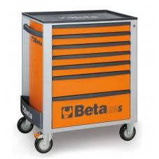 Количка за инструменти Beta C24S, 7 чекмеджета, ABS капак