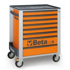 Количка за инструменти Beta C24S, 8 чекмеджета, ABS капак