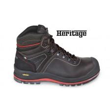 Обувки работни от импрегнирана кожа Beta 7294HM, водоустойчиви и топлоустойчиви подметки от Vibram, високи
