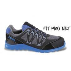Обувки от мрежеста материя Beta 7340B, повишена проветривост, с PU вложки и велурено подсилване в областта на бомбето