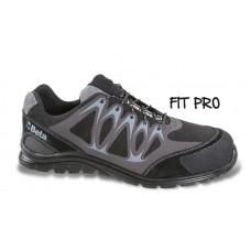 Обувки от микровелур Beta 7341N, водоустойчиви, с PU вложки и велурено подсилване в областта на бомбето