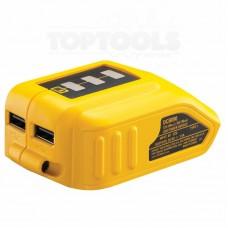 DeWALT Адаптор за батерия USB DCB090
