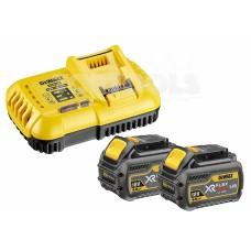DeWALT Комплект зарядно устройство и Li-Ion батерии 2x DCB546, DCB118 DCB118T2