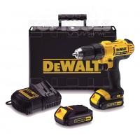 DeWALT Винтоверт акумулаторен Li-Ion DCD734C2