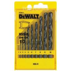 DeWALT Комплект свредла за метал DT5911 - 10 бр 1-10мм