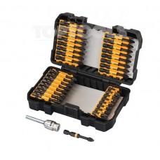 """Комплект ударни битове и  магнитен държач 1/4"""", 34 бр., Dewalt DT70545T"""