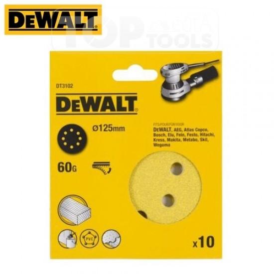 DeWALT Шкурка за орбитален шлайф DT3102
