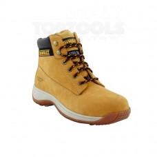 Работни обувки с метално бомбе и каучукова подметка, DeWALT Apprentice, DWF50011, високи