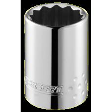 """Вложка с вътрешен 12-стен, милиметрова, Expert E117060, 1/2"""", 17 мм"""