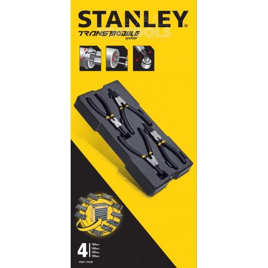 Модул от зегер клещи, Stanley STMT1-74180, 4 части